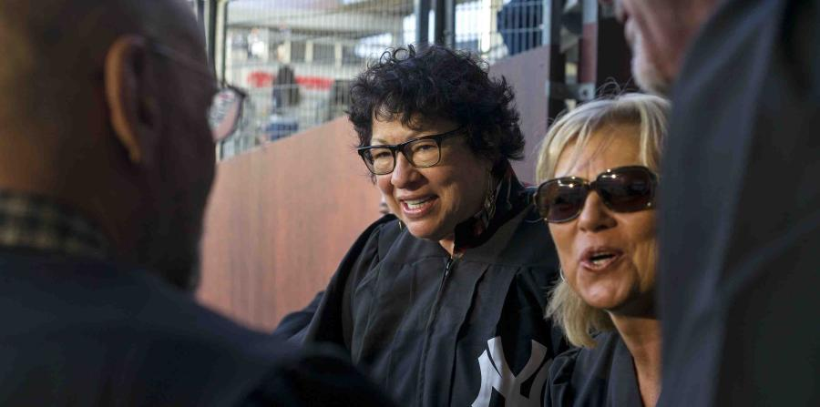 Sonia Sotomayor se une al despacho de Aaron Judge