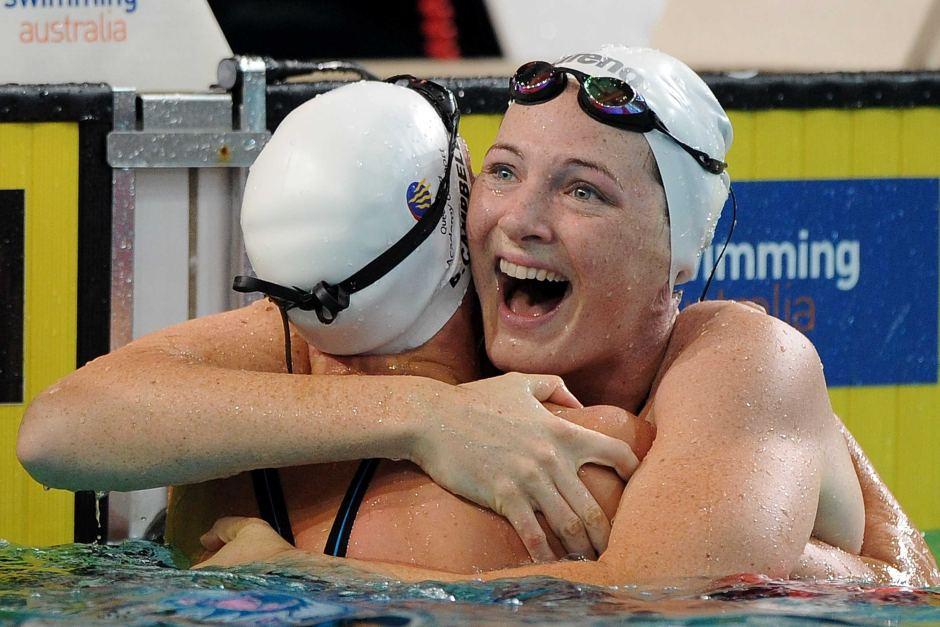 Cate Campbell bate el récord mundial de 100 metros libre