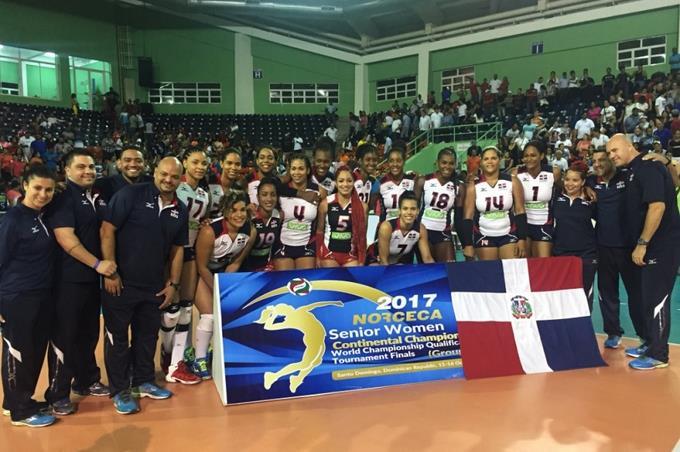 Dominicana clasifica a Mundial de Voleibol y disputará el oro