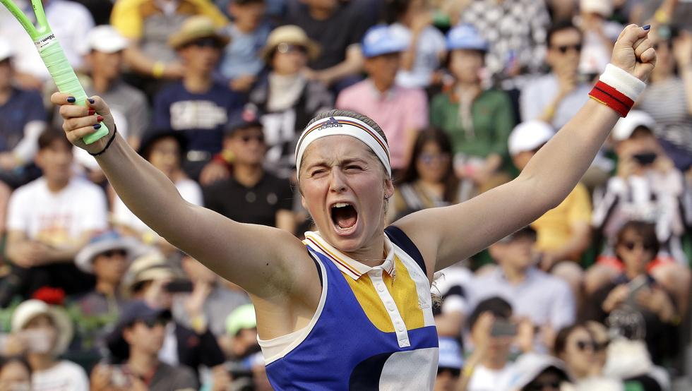 Jelena Ostapenko logra la plaza para el Masters WTA