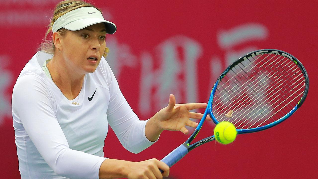 Sharapova conquista en Tianjin su primer título desde su suspensión por dopaje