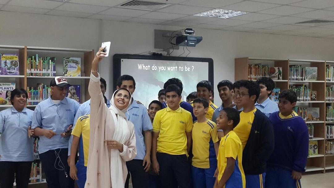 Al-Subaiey, la amazona que rompe moldes en Qatar