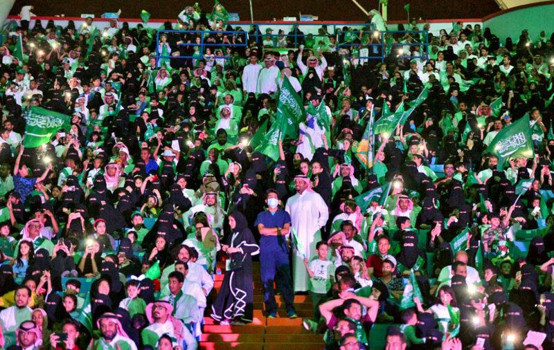 Las mujeres saudíes podrán entrar a estadios en 2018