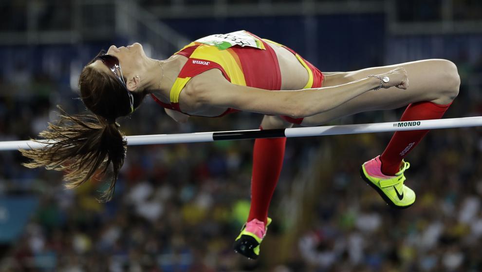 Ruth Beitia, la mejor atleta española dice adiós a las pistas