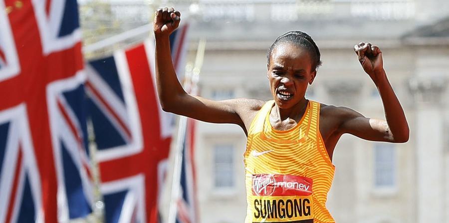 La keniana Jemima Sumgong, campeona olímpica de maratón, es suspendida cuatro años por dopaje