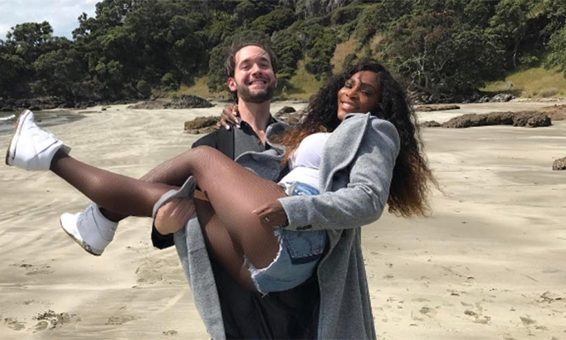 Serena Williams se casó en Nueva Orleans