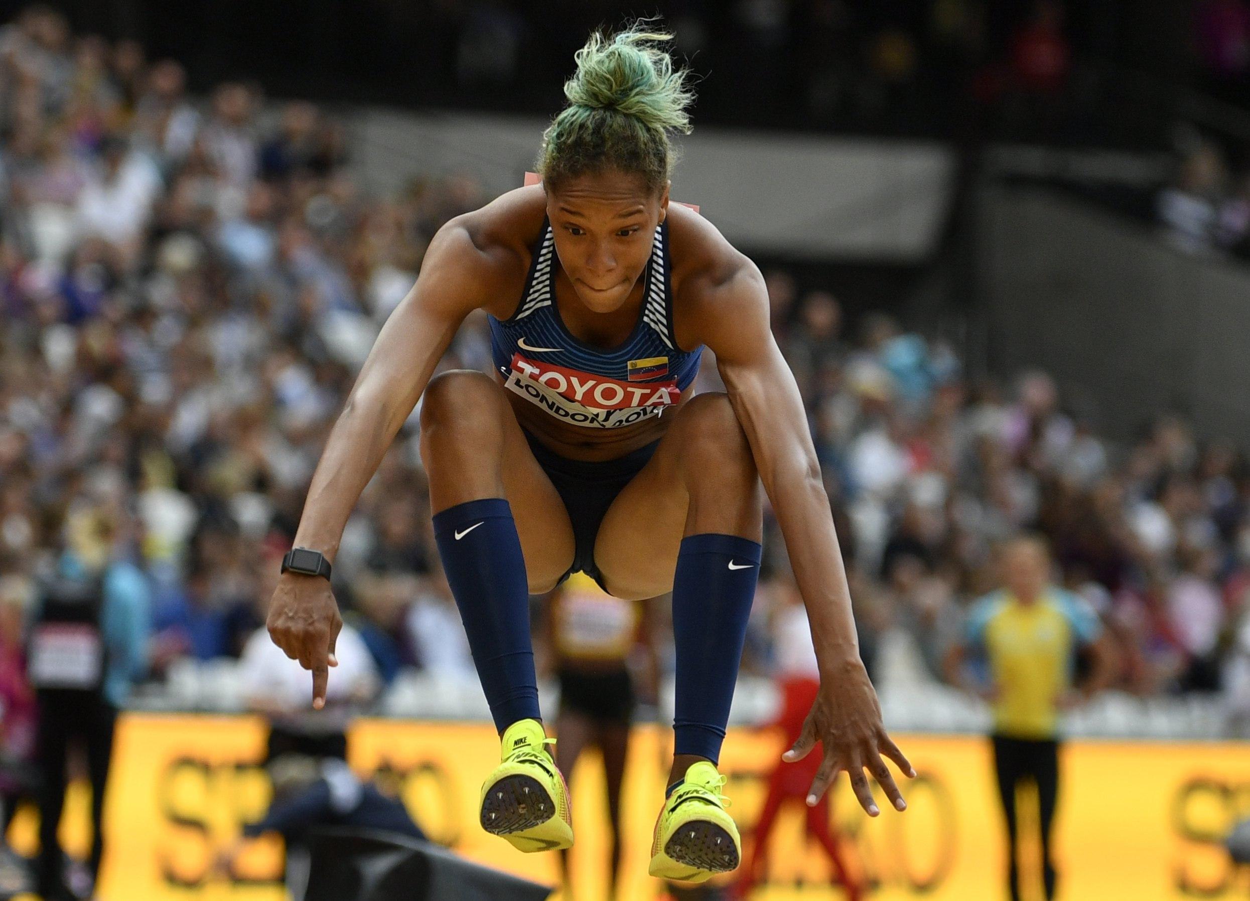 Yulimar Rojas, la mejor atleta de América