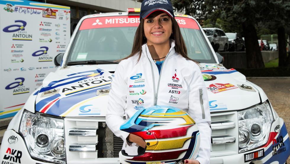 Cristina Gutiérrez, novata en el Rally Dakar
