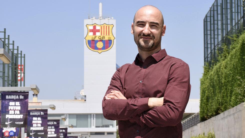 """Fran Sánchez: """"La apuesta del Barça por el Femenino es enorme"""""""