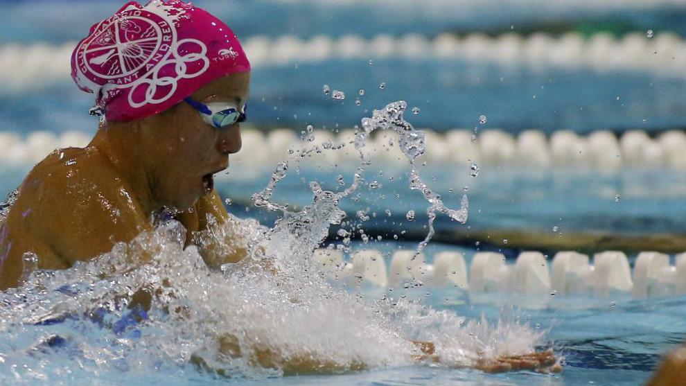 Jessica Vall, la campeona de natación que tuvo que esperar hasta los 29