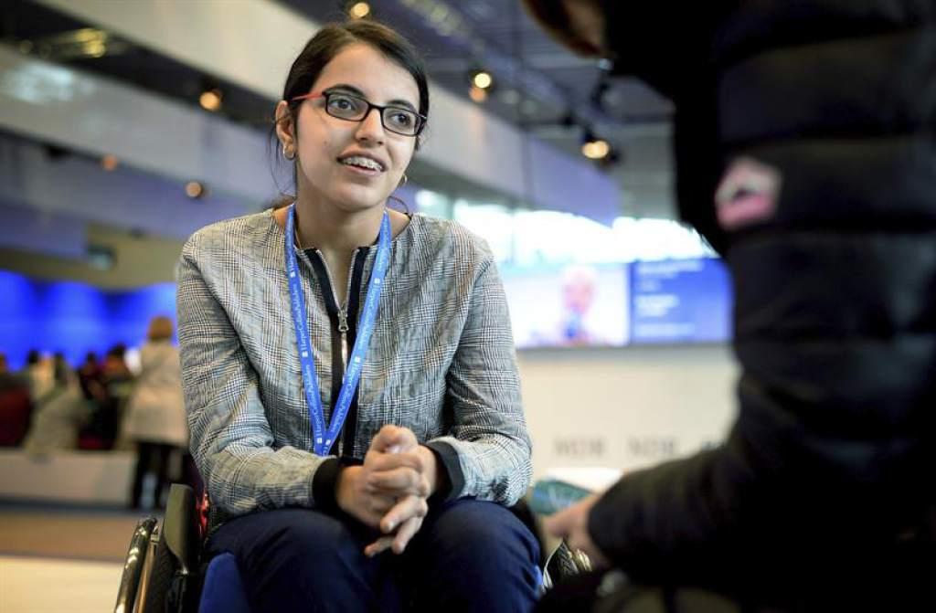 Nujeen, la niña refugiada siria con parálisis cerebral a la que el Barca le cumpió su sueño