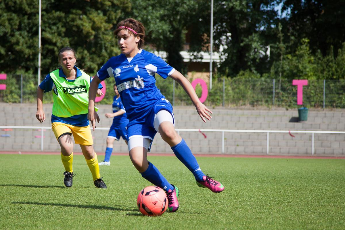El fútbol femenino gana terreno en Cisjordania