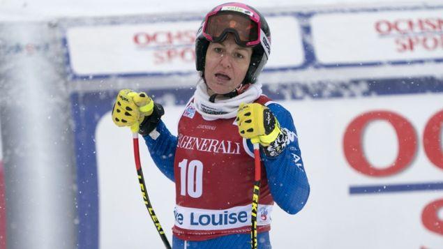 La esquiadora italiana Elena Fanchini se retira temporalmente por un tumor