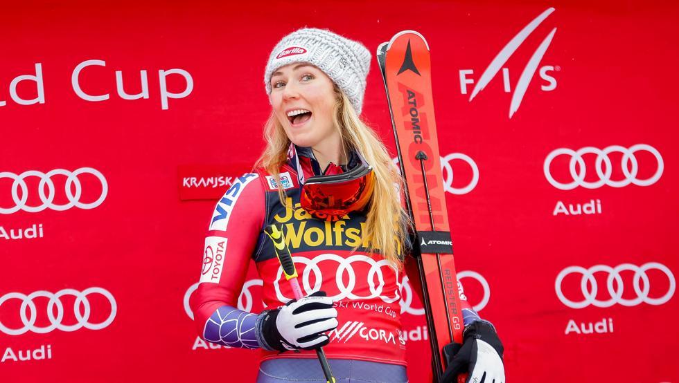 Mikaela Shiffrin reina en el eslalon gigante de Kranjska Gora