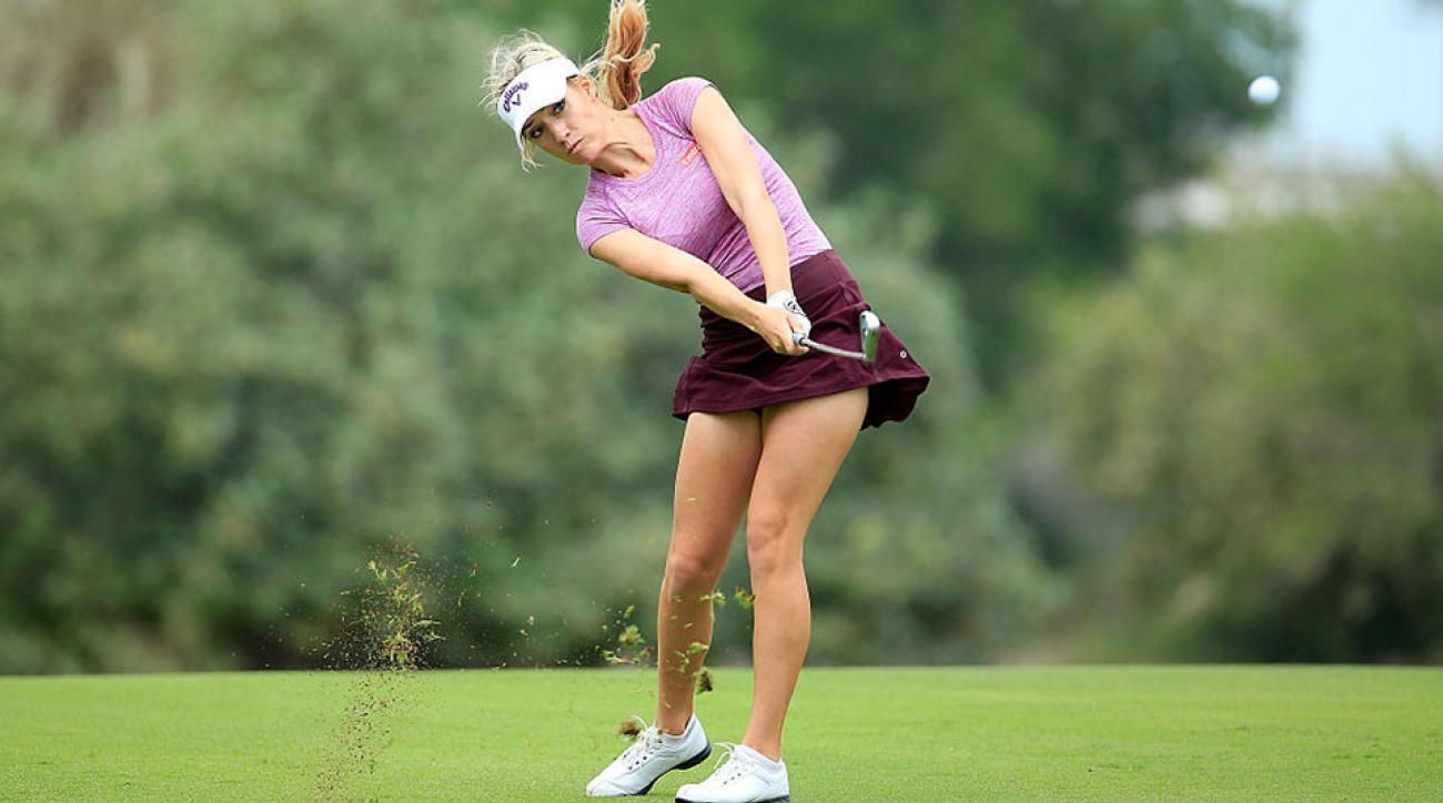 Una polémica en torno a la Kournikova del golf