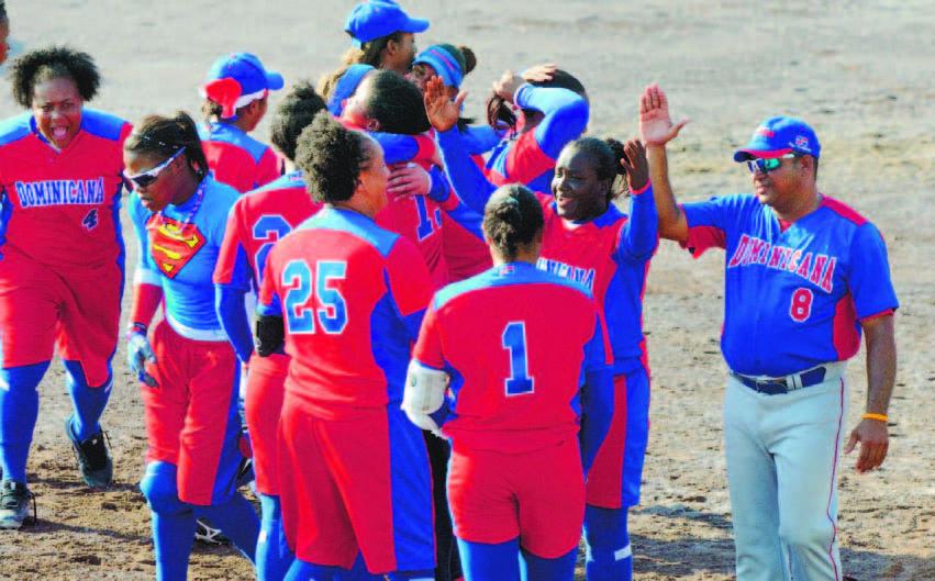 Softbol de RD Tras retener oro en femenino