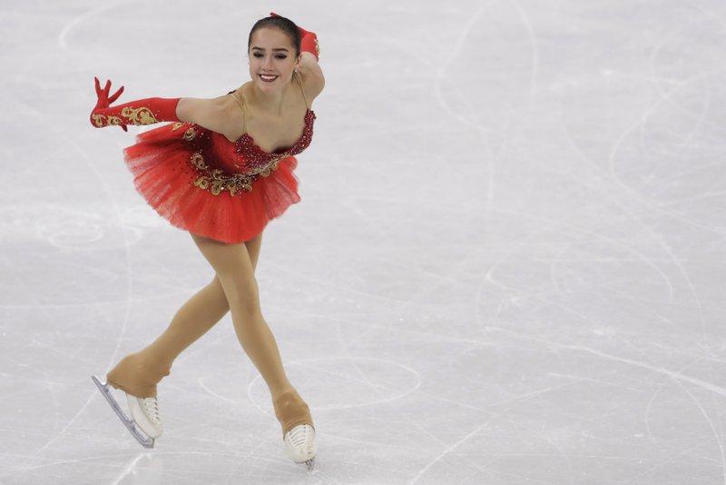 Zagitova gana el oro olímpico de patinaje artístico
