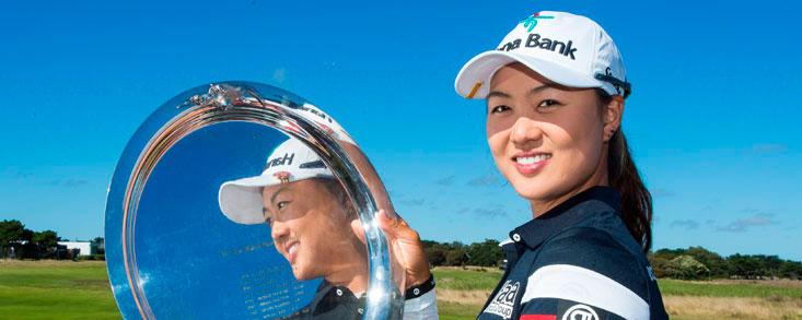 Minjee Lee gana su segundo título en el Oates Vic Open