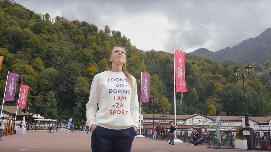 Rusa, que promovía no doparse, da positivo en PyeongChang
