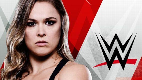 Caos en el primer día de Ronda Rousey en la WWE