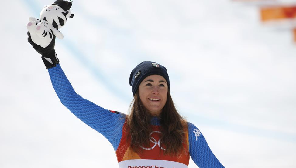 Sofia Goggia destrona a Lindsey Vonn y es la nueva campeona olímpica de descenso