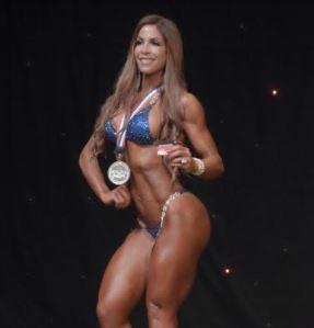 Haidy Cruz gana décima corona en fisiculturismo