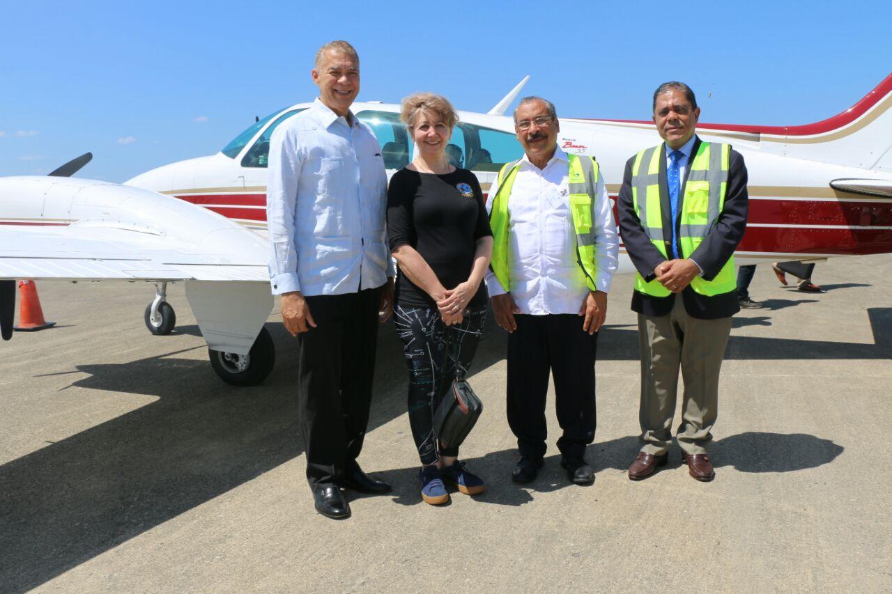 Pilotos de Canadá, Estados Unidos y Europa inician rally aéreo desde Puerto Plata