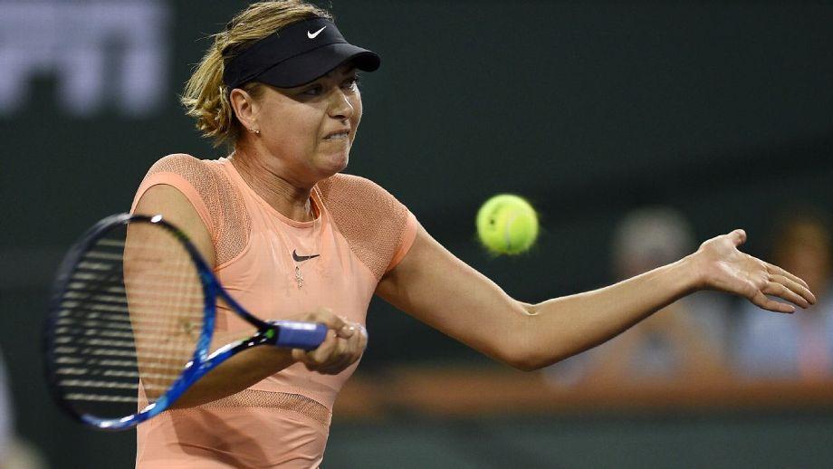 Sharapova no jugará el Abierto de Miami