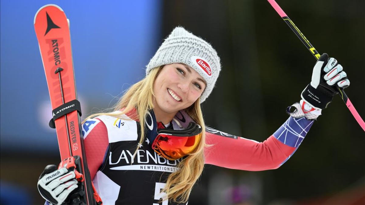 Shiffrin gana su segunda Copa del Mundo de esquí alpino