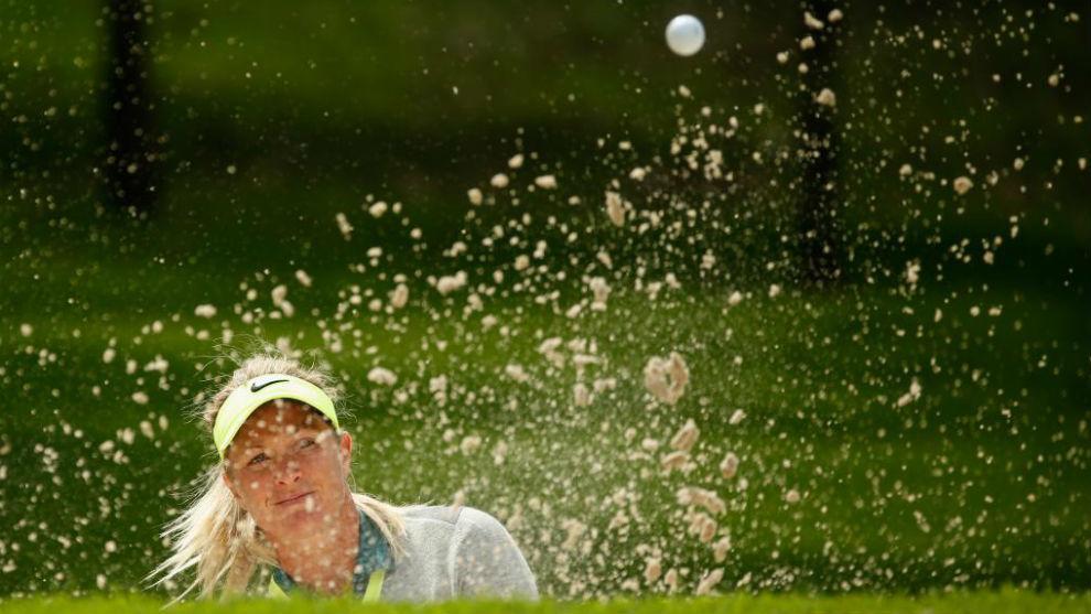 La golfista norueaga que se telefonea con Trump