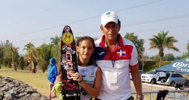 Francesca Pigozzi gana medalla de plata en modalidad Slalom