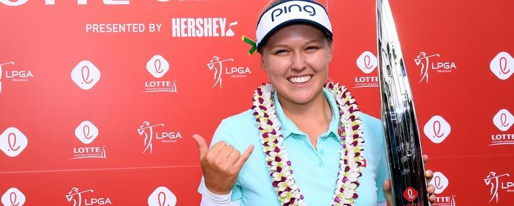 Henderson logra su sexta victoria del LPGA al imponerse en el Lotte Championship