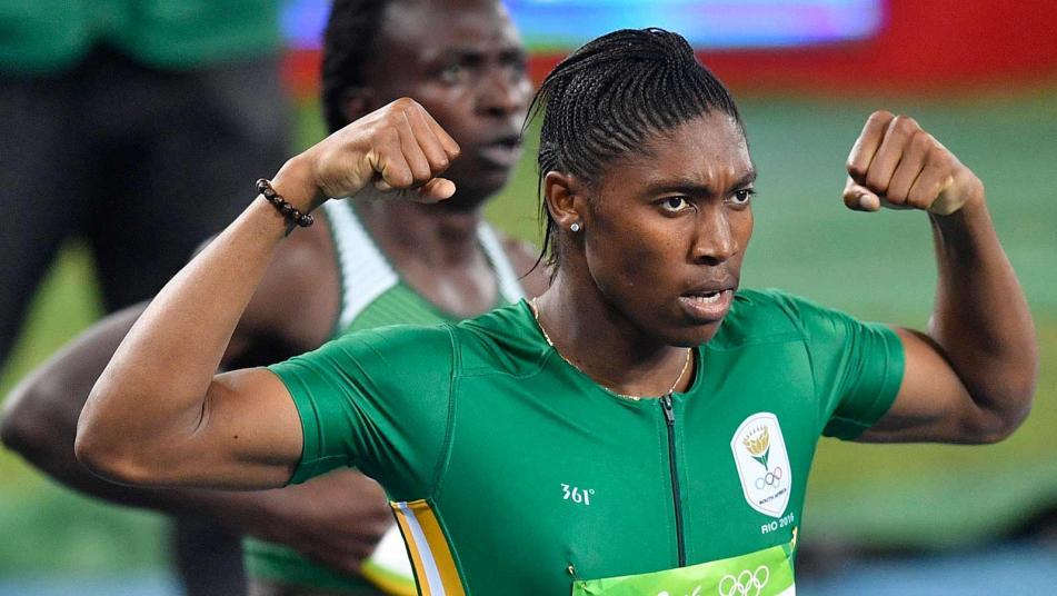 """Sudáfrica cree que hay """"caza de brujas"""" contra la atleta Caster Semenya"""