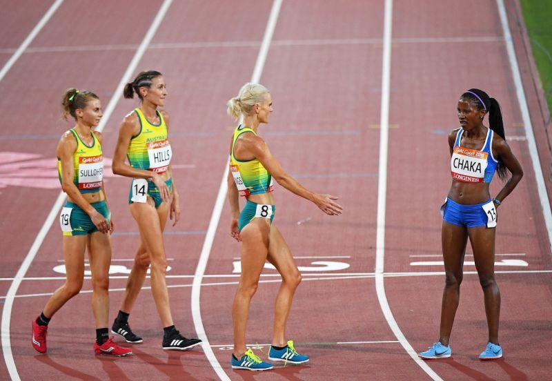 El gesto de deportividad de tres atletas australianas