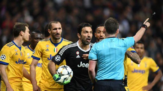 Policía investiga amenazas contra la mujer del árbitro del R.Madrid-Juventus