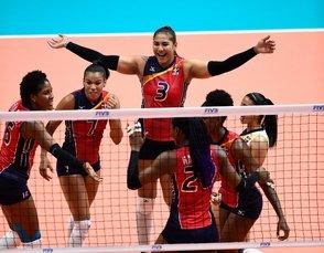 Las Reinas del Caribe barren a Argentina y consiguen primer triunfo en Liga de Naciones |