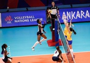 Brasil dispone 3-0 sobre Dominicana en Liga de Naciones