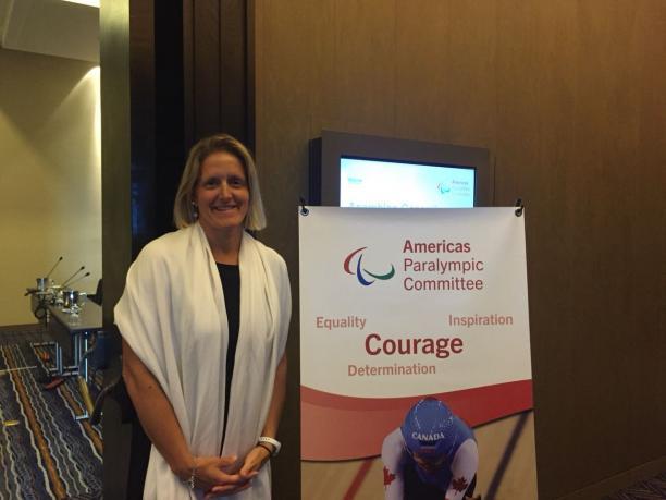 Julie O'Neill, nueva presidenta del Comité Paralímpico de las Américas