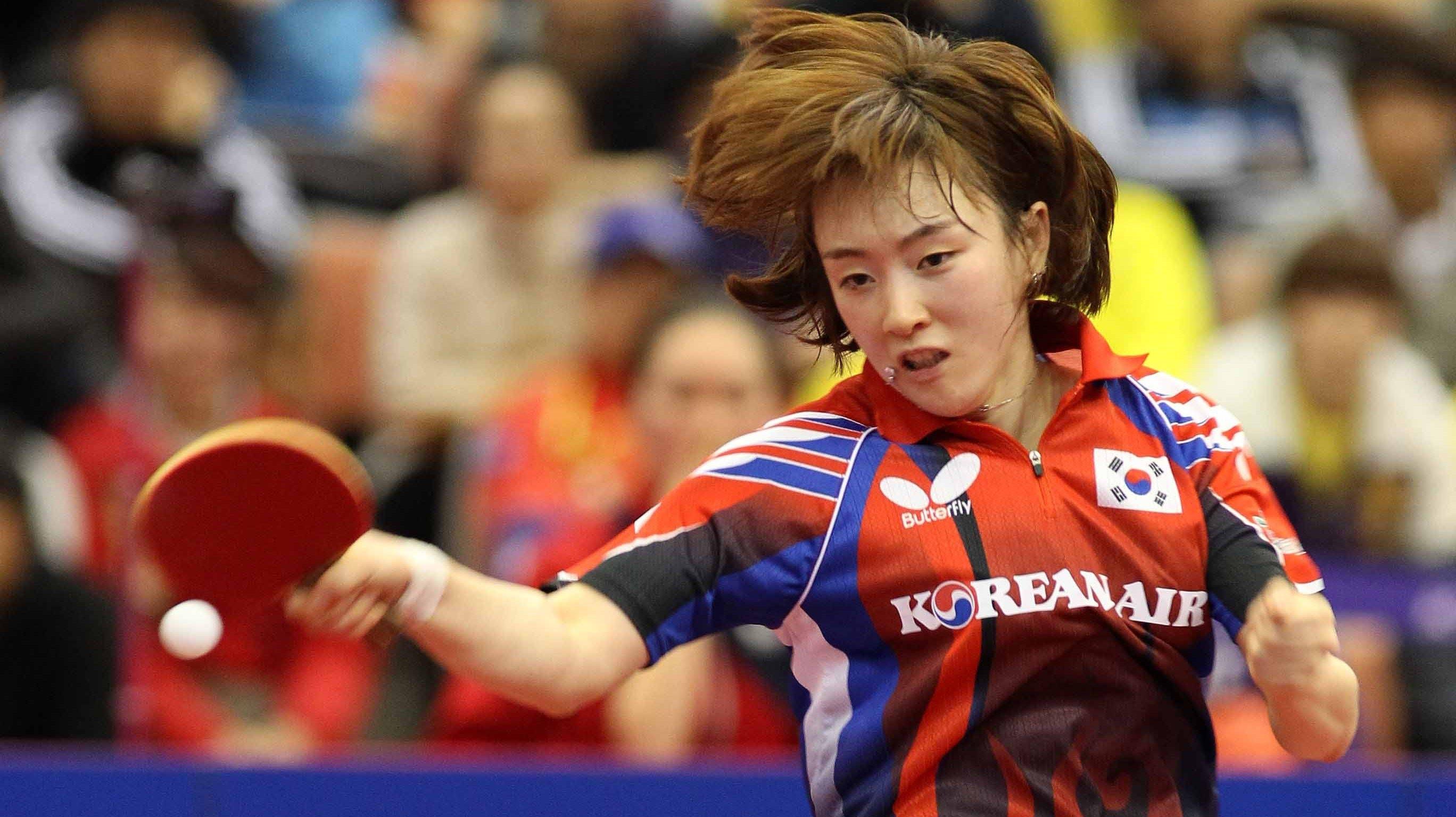 Las Coreas juegan unidas en el Mundial de tenis de mesa pero caen ante Japón