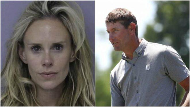 Arrestan a la mujer de Lucas Glover por violencia doméstica tras fallar éste el corte en The Players