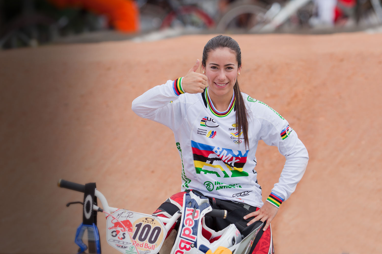 La reina del BMX se pierde el resto de la temporada por lesión