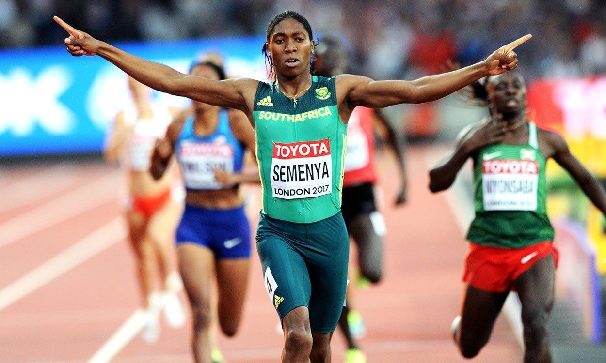 Semenya presenta un recurso contra la IAAF por el hiperandrogenismo