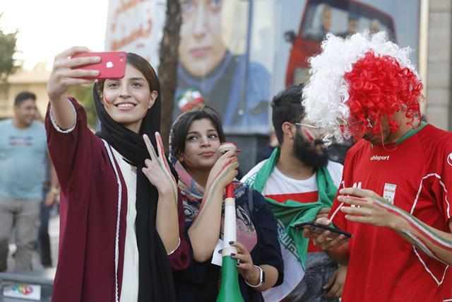 La victoria estaba en la grada con las mujeres musulmanas