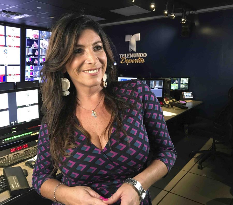 Las mujeres rompen barreras en las trasmisiones televisivas del Mundial
