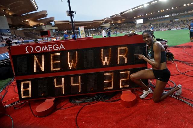 La keniana Chepkoech quiebra la marca mundial de los 3.000 metros con obstáculos