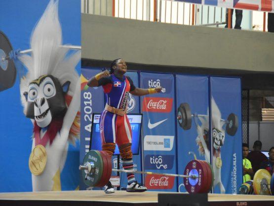 Crismery Santana cumple con dos oros y récords en Barranquilla