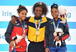 Gerogina Silvestre y Santa Dolorita ganan plata y bronce en pesas