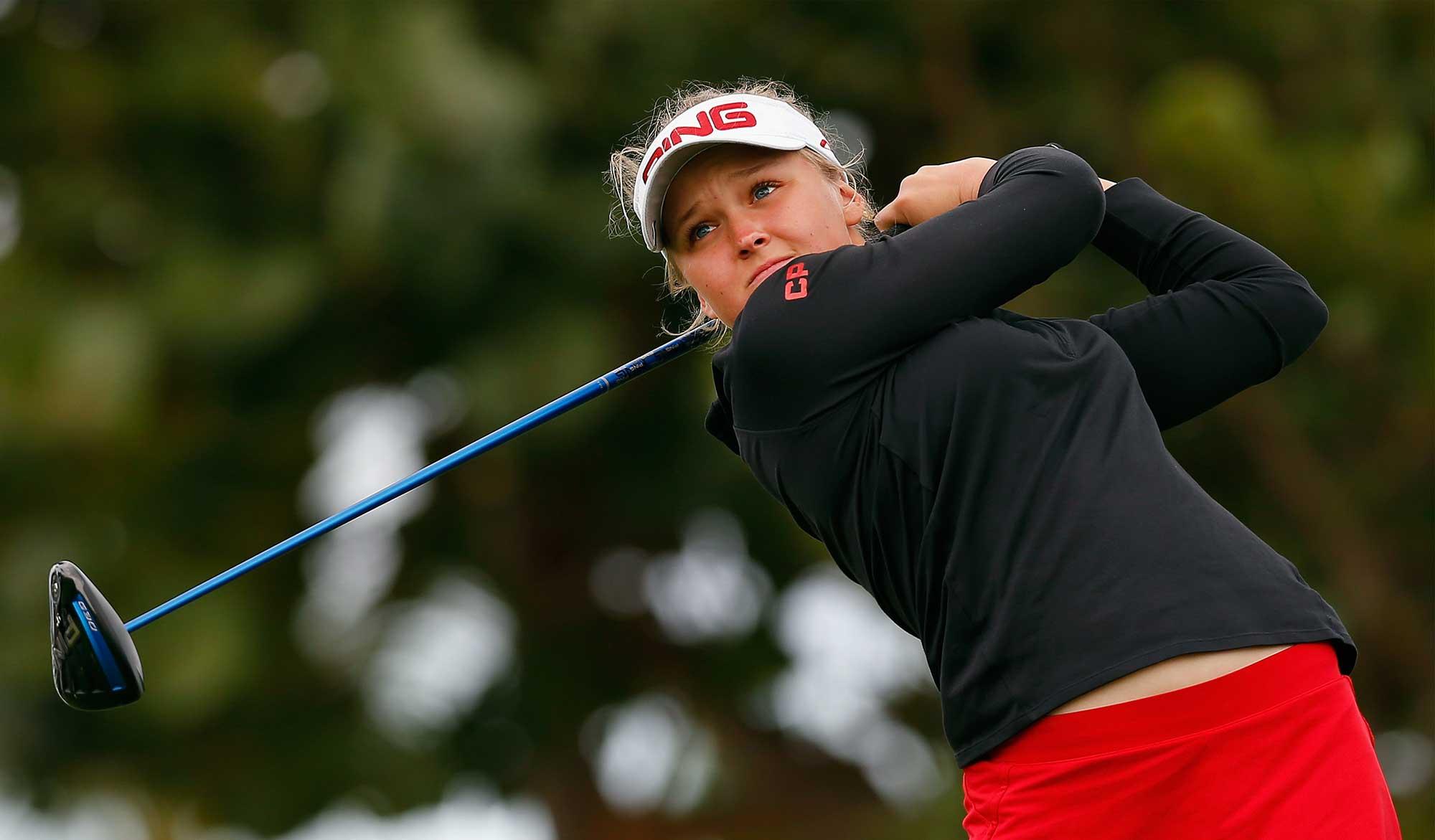 Brooke M. Henderson acaba con sequía de títulos canadienses desde 1973