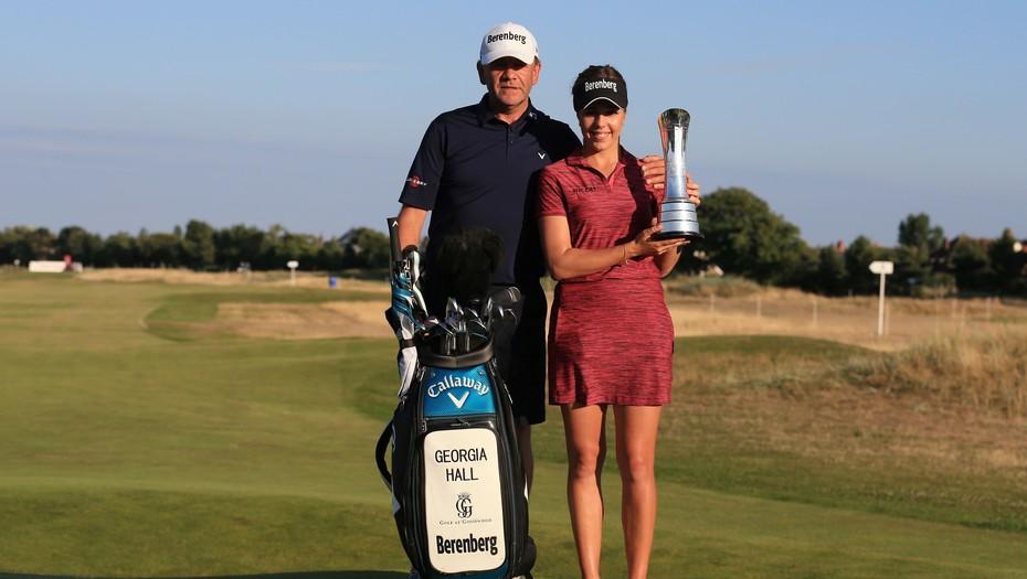 Inglesa Georgia Hall gana British Open, su primer torneo mayor de golf