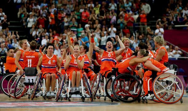 Holanda campeonas del mundo de baloncesto en silla de ruedas